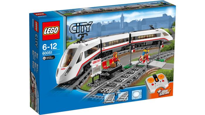 harga Lego city high-speed passenger train 60051 Tokopedia.com