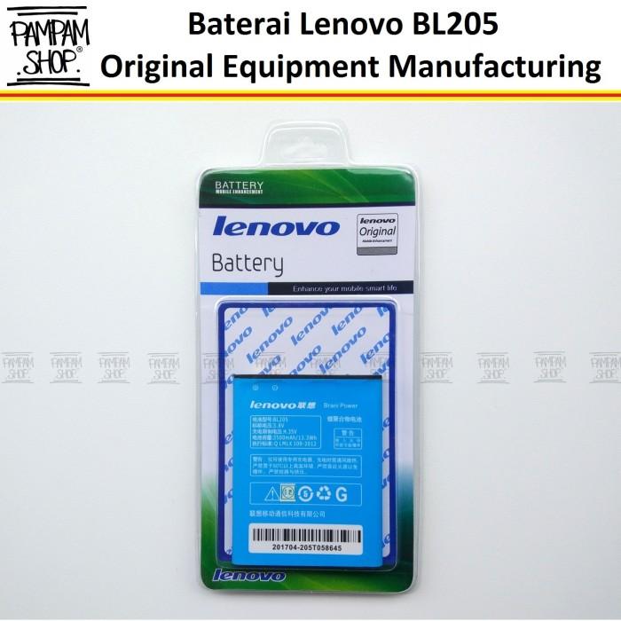 harga Baterai handphone lenovo p770 bl205 original | bl 205 batrai batre Tokopedia.com
