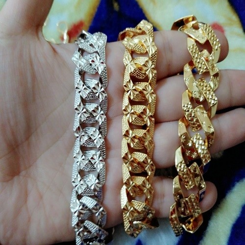 harga Gelang sisik naga gold silver cantik xuping Tokopedia.com