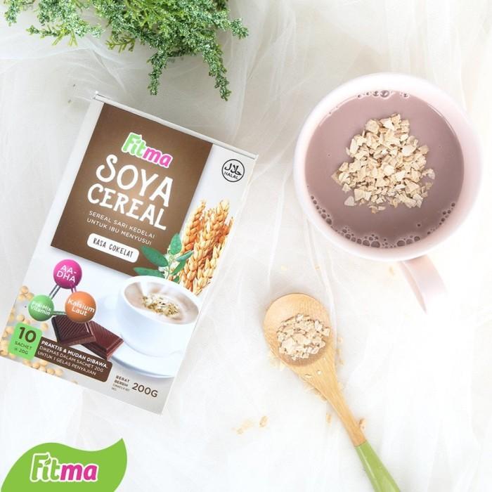 harga Fitma Soya Cereal Pelancar Asi Susu Sereal Kedelai Daun Katuk Coklat Tokopedia.com