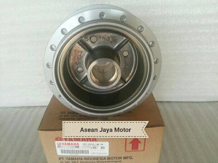 harga Tromol belakang f1 z / jupiter z old silver 23t-f5311-20-35 ori yamaha Tokopedia.com