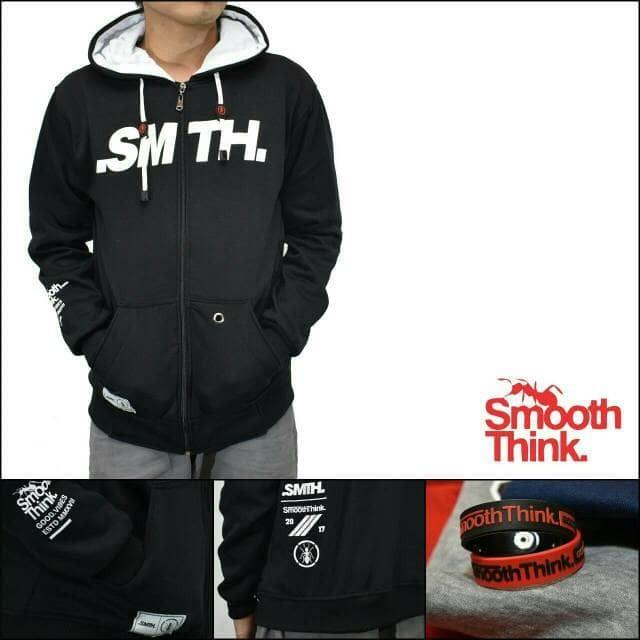 jaket zipper hoodie smooth think / jaket distro pria / jaket original