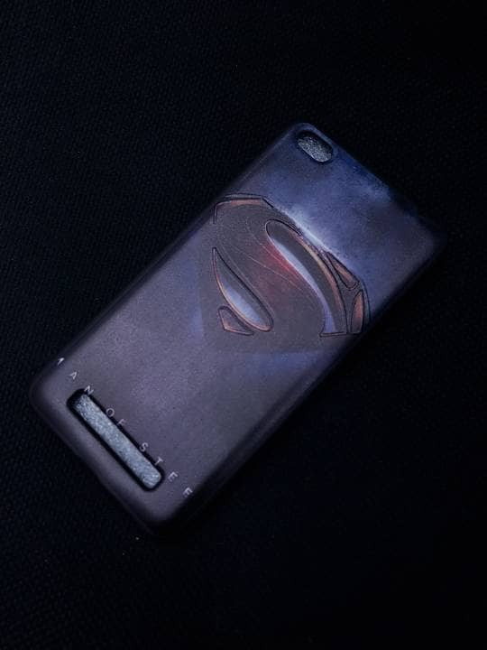 Softcase gambar superhero Vivo Y53