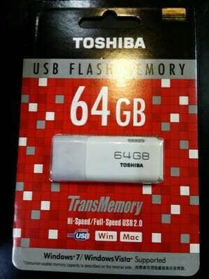 harga Flashdisk toshiba 64gb / flash disk toshiba 64gb (kode 0156) Tokopedia.com