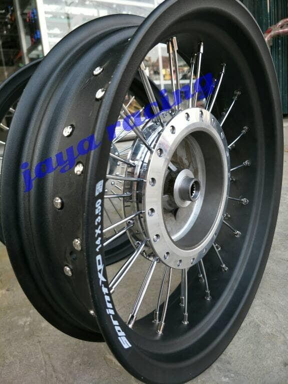 harga Sepaket velg vario 125 ring 14 tapak lebar 250 350 paket komplit Tokopedia.com