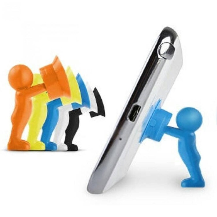 Info 3d Man Stand Phone Holder Travelbon.com