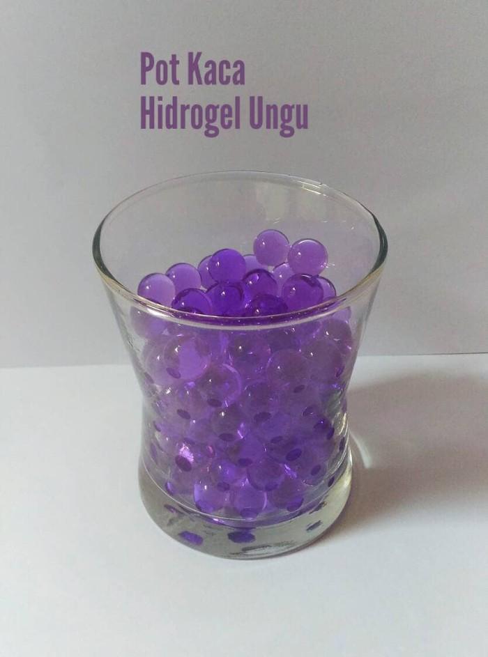 harga Hidrogel import include pot kaca sebagai hiasan ruangan dan pajangan Tokopedia.com