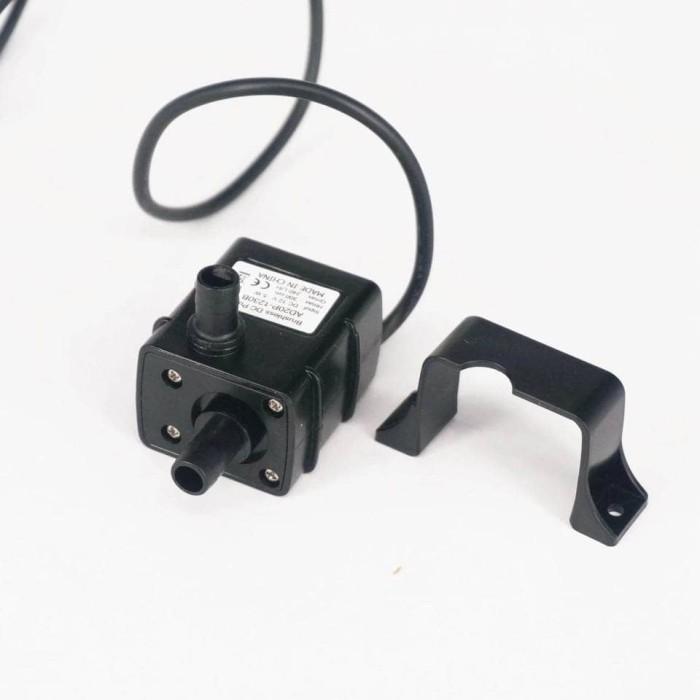 harga 12v dc brushless submersible water pump pompa celup 3m 240l/h t1 4.8w Tokopedia.com