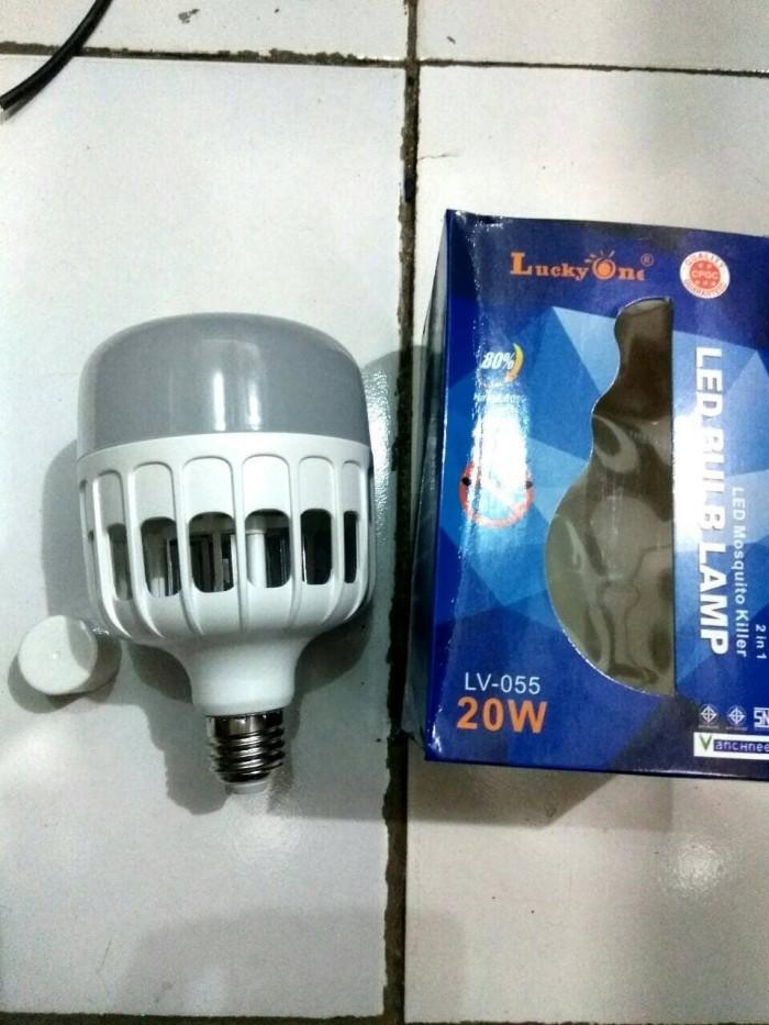 harga Lampu led 2 in 1 mosquito killer dan bohlam lampu 20 watt lucky one Tokopedia.com