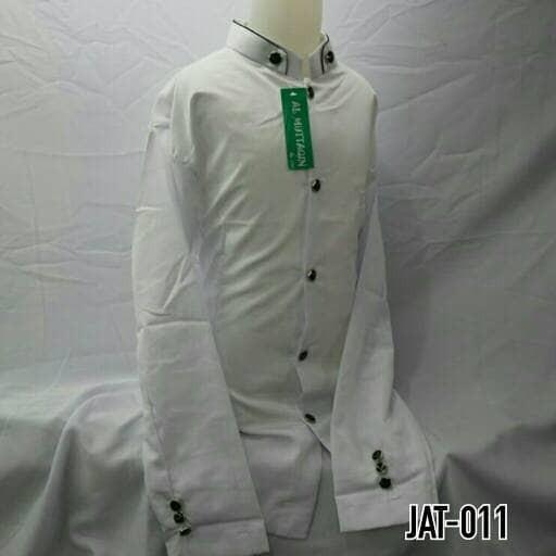 Baju muslim anak baju koko jasko jas koko putih polos anak jat 011