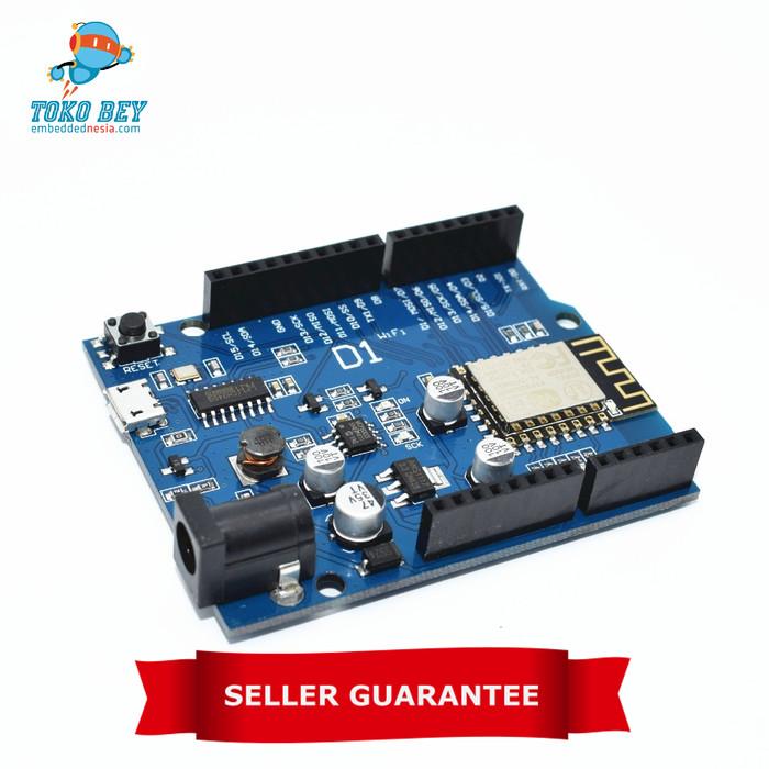 Foto Produk  ESP-12E  WeMos D1 WiFi uno based ESP8266   Arduino Compatible dari TOKO BEY