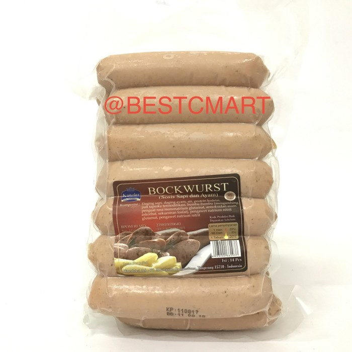 harga Kanzler bockwurst isi 14 pcs (go-send instant courier only!) Tokopedia.com