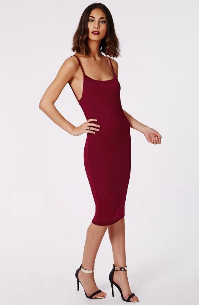 harga Dress midi gaun  red sexy back (l) 171333 original sale Tokopedia.com
