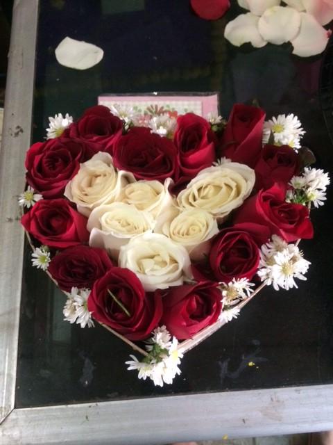 Jual Bunga Mawar Merah Bentuk Love Hati Jakarta Timur Toko Hrp