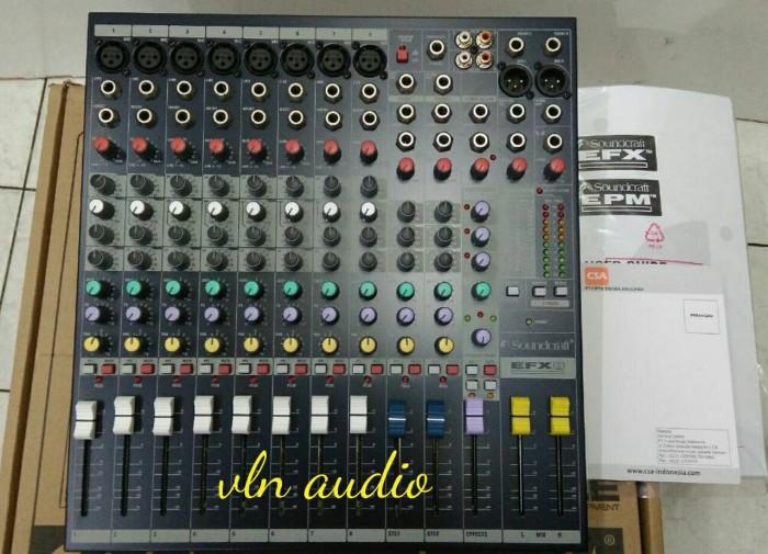 harga Mixer soundcraft efx 8/efx8 ( original) Tokopedia.com