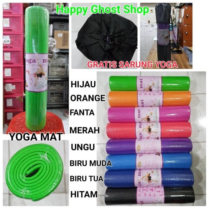 harga Matras Yoga / Yoga Mat 61 X 173 X 6 Mm Tokopedia.com