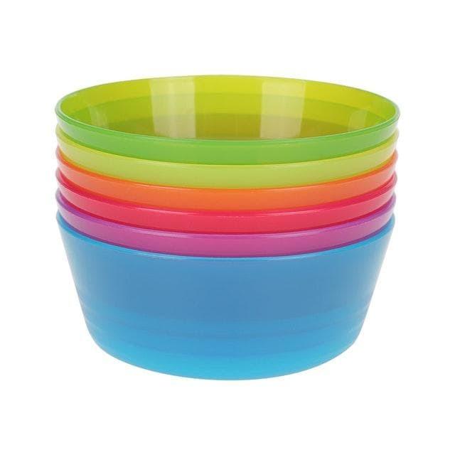 [a903] ikea kalas 6 pcs mangkuk pesta colorful bowl party bpa free