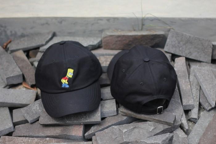 c6b17dae7e38f Jual Topi Bart Simpson Black Dad Hat Premium - Kota Bandung ...