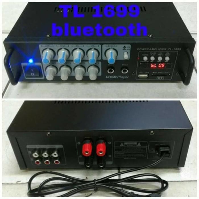 harga Ampli Mixer Tl 1699 Bluetooth Bluetoot Amplifier Ampli Profesional Pow Tokopedia.com