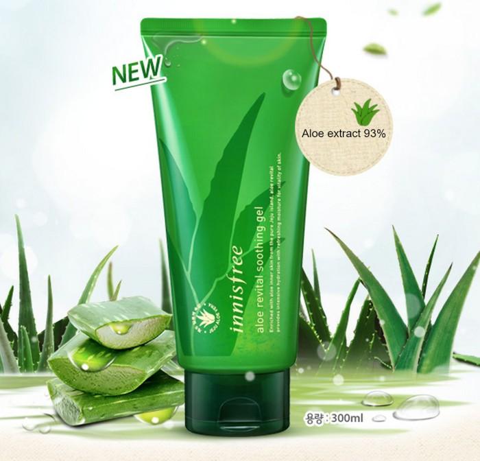 Foto Produk INNISFREE Aloe Revital Soothing Gel 300ml dari Angels Beauty