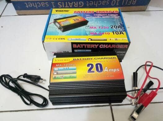 harga Automatic smart battery charger accu/aki 12v 20a Tokopedia.com