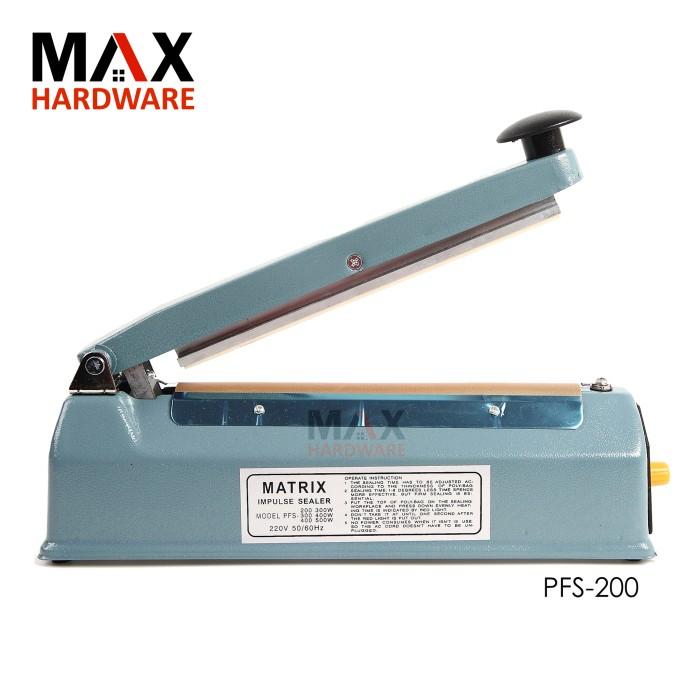 harga Alat press plastik impulse sealer pfs-200 20cm. kualitas bagus Tokopedia.com