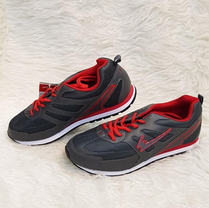harga Eagle spider dark grey red abu merah sepatu olah raga kets sport shoes Tokopedia.com