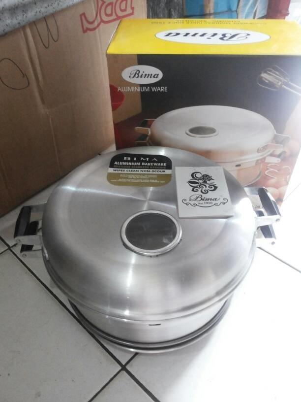 Jual 28 Cm Baking Pan Bima No 28 Cm 8 Telur Jakarta