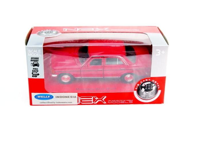 harga Welly mercedes benz mercy tiger w123 - merah Tokopedia.com