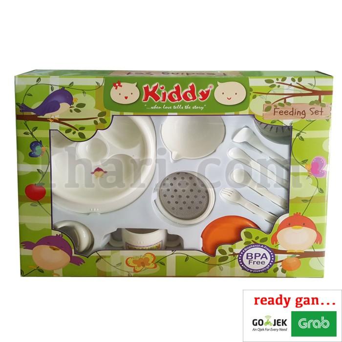 Foto Produk Feeding Set + Baby Food Maker / Peralatan Makan Bayi GB020 dari Golden Bell