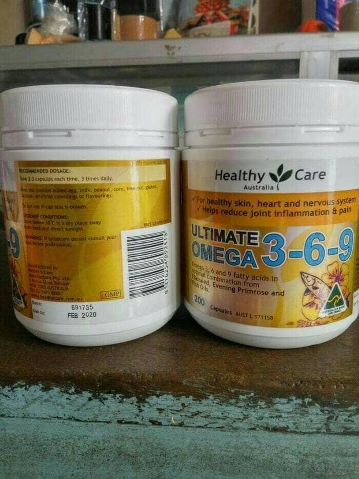 harga Ultimate omega 369 healthy care minyak ikan Tokopedia.com