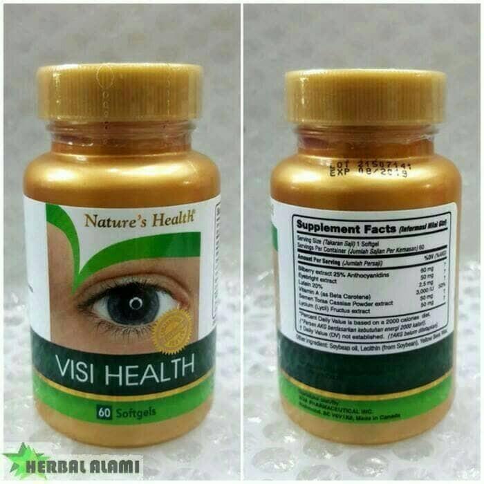 harga Suplemen mata nature health.. visi health eyecare asli Tokopedia.com