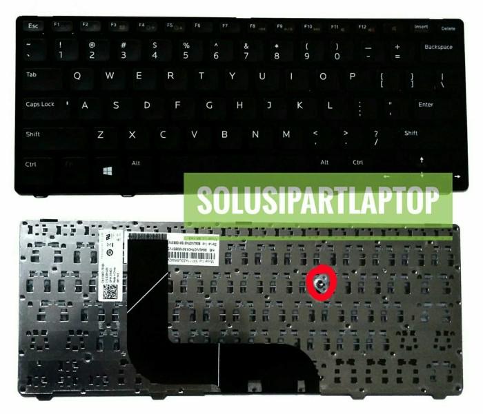 harga Keyboard dell 14z 14z-5423 14z-3360 14z-n411z black frame Tokopedia.com