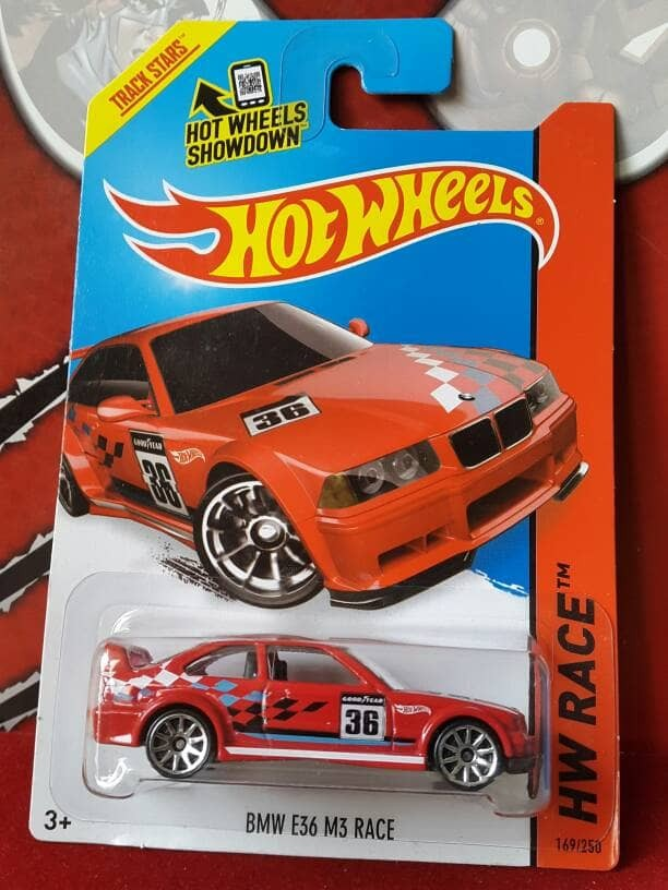 harga Bmw m3 e36 red racing with goodyear sponsor hotwheels track star Tokopedia.com