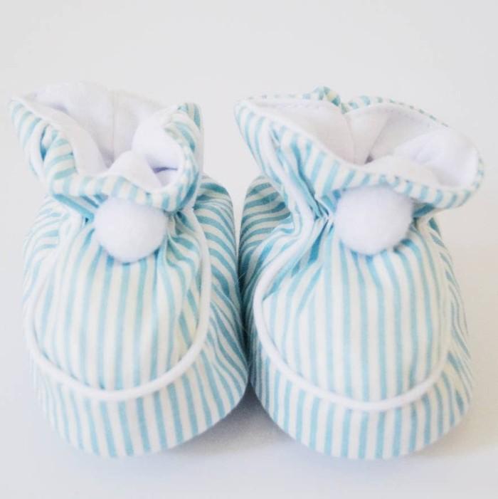 harga Sepatu pon-pon bayi babyu (salur biru) Tokopedia.com