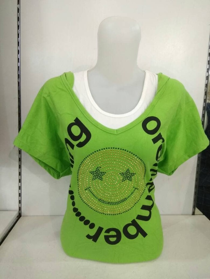 Foto Produk baju kaos T38 smile dari ll boutique