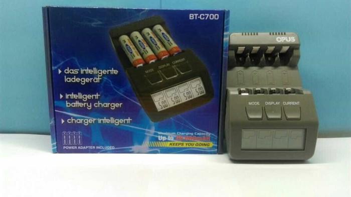 harga Opus btc-700 baterai charger (not powerex eneloop nitecore litelong) Tokopedia.com
