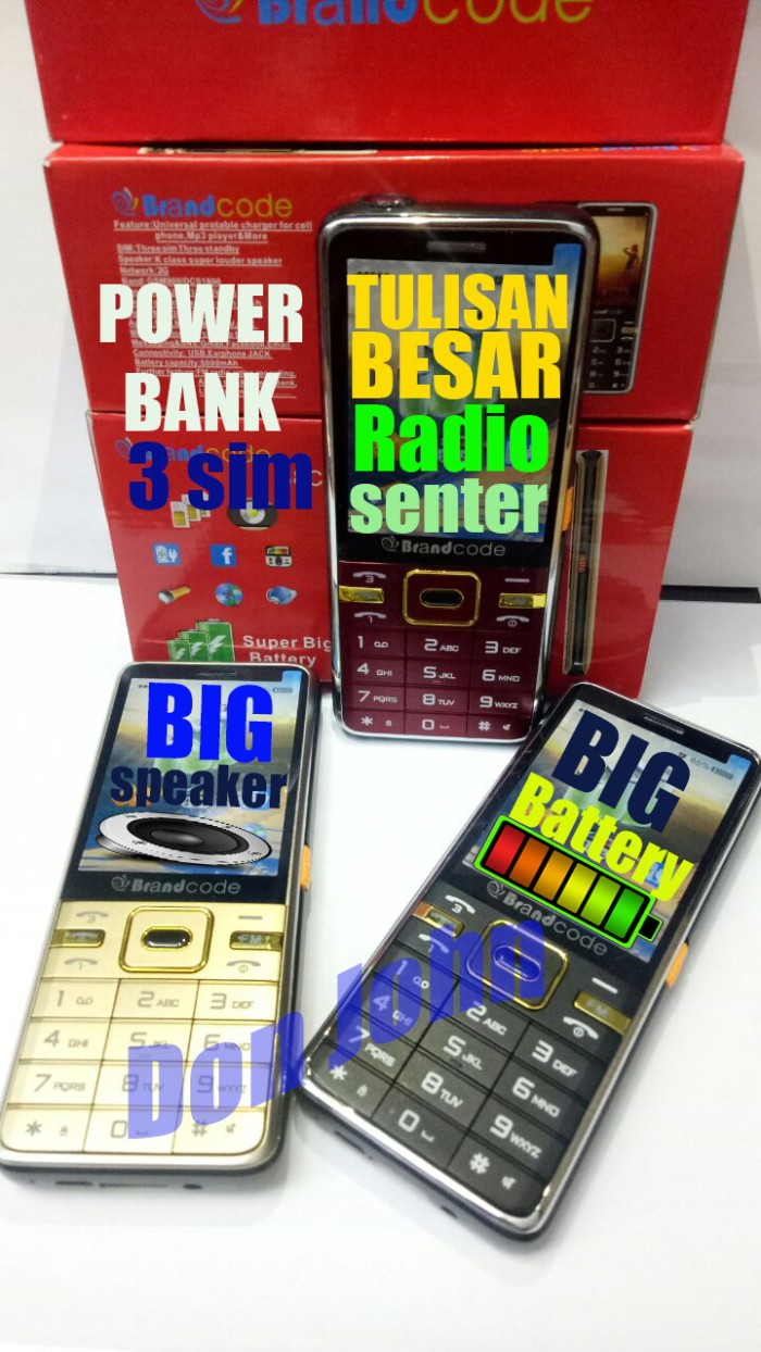 harga Brandcode b8c tulisan besar senter radio Tokopedia.com