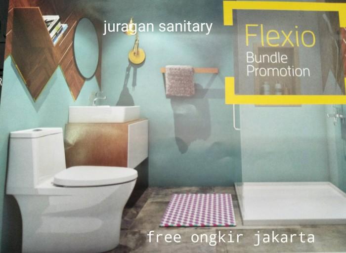 Jual Paket Closet + Wastafel American Standard Flexio - Juragan ...