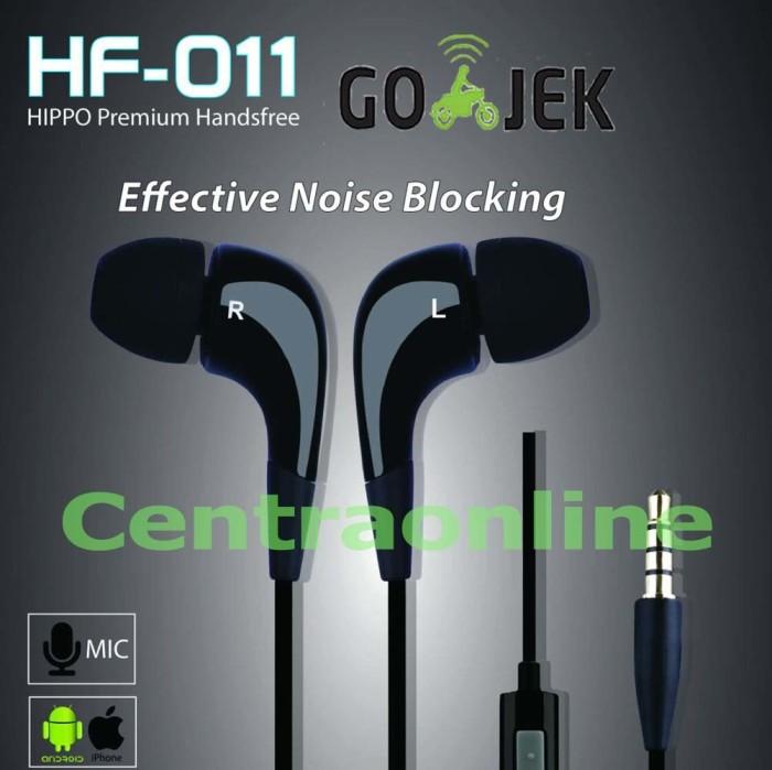 Hippo HF-011 Premium Handsfree Earphone HF011Bagus Bass Promo Murah