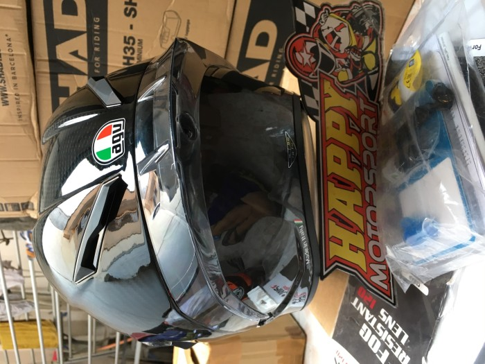 Helm AGV GP Pista GPR Carbon Glossy Eurofit size M L XL made in Italy 1