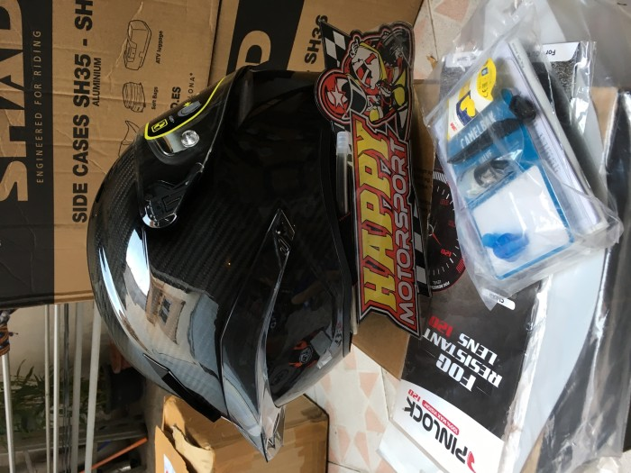 Helm AGV GP Pista GPR Carbon Glossy Eurofit size M L XL made in Italy 2