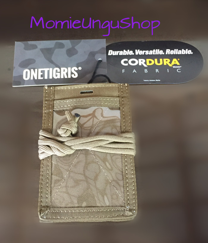 harga Tactical id card holder onetigris patch neck lanyard Tokopedia.com
