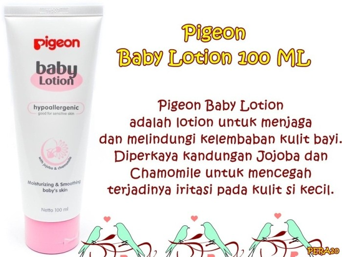 ... PERA20 Pigeon Baby Lotion 100 ML