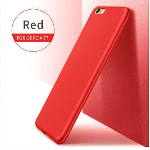harga Oppo f3 ultra thin soft tpu back case red dan black Tokopedia.com