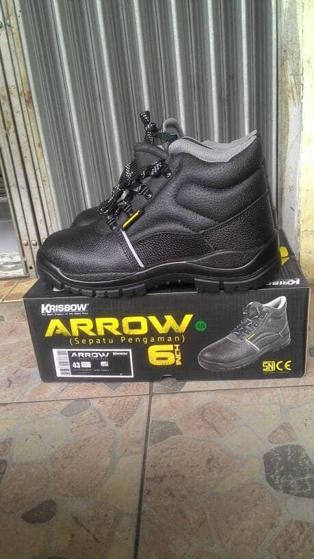 harga Sepatu krisbow safety shoes arrow 6 Tokopedia.com
