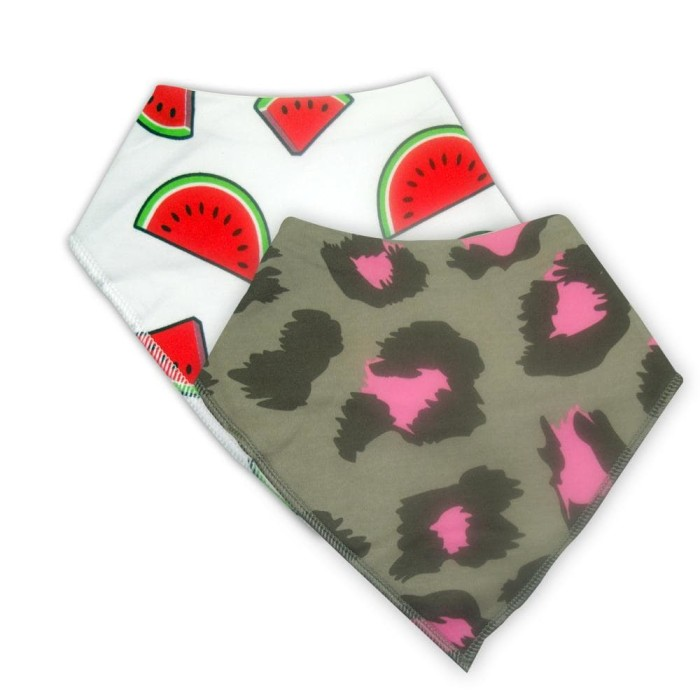 harga Doctor dolphin baby bibs (2pk) - watermelon Tokopedia.com