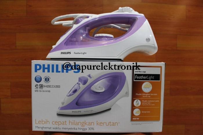 harga Philips setrika uap gc 1418 / feather light Tokopedia.com