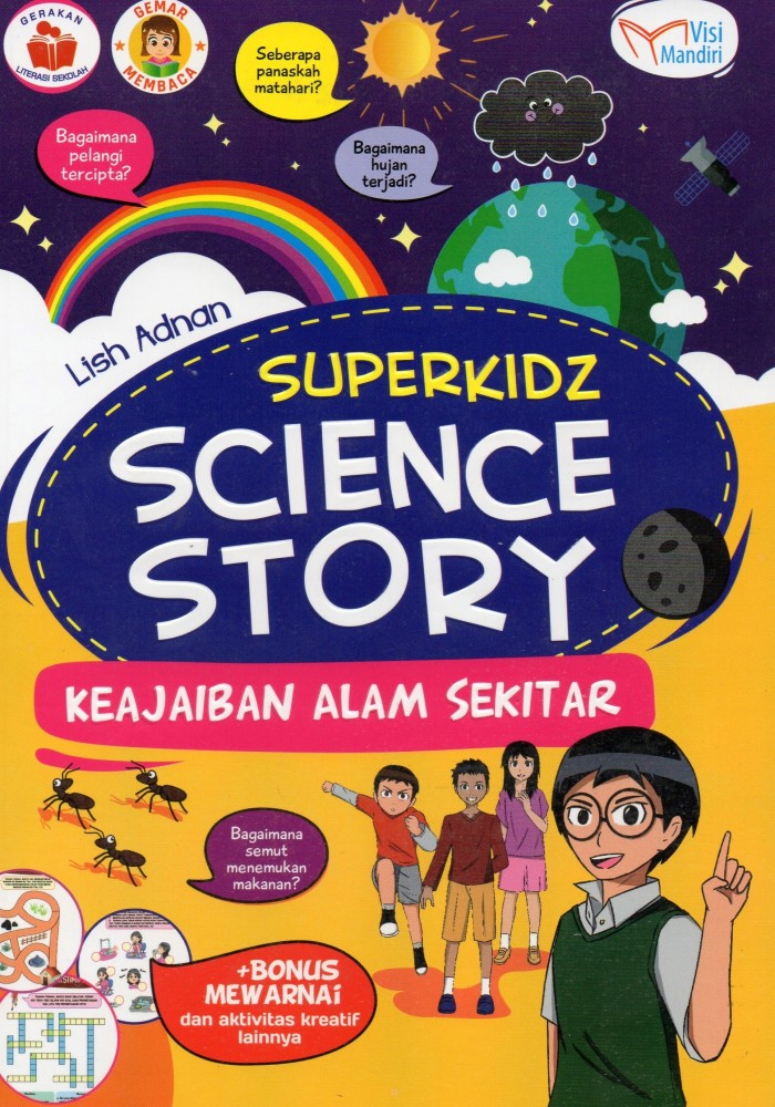 Jual Superkids Science Story Keajaiban Alam Semesta Kota Bandung