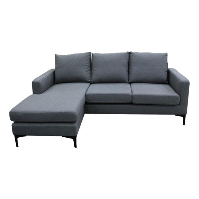 Jual Sofa Blume L Shape Dark Grey Harga Promo Terbaru